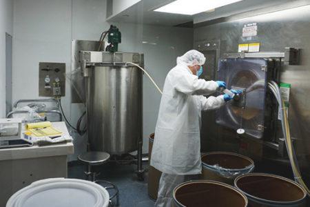 Avema's solid dose manufacturing in Miami.