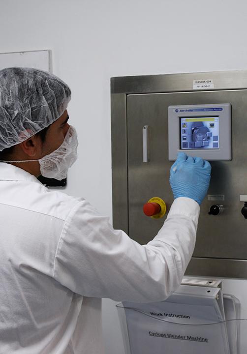 Research & Development capabilites at Avema's Miami facility support solid and liquid dose development.
